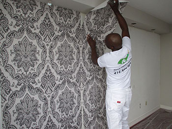 How To Remove Wallpaper The Easy Way Home Painters Toronto